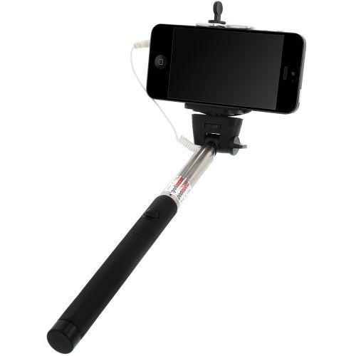 selfie stange stick knopf stativ teleskop f r sony xperia z z1 z3 z4 z5 compact. Black Bedroom Furniture Sets. Home Design Ideas