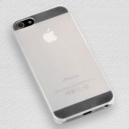 Farblos-Hardcase-Crystal-Case-Huelle-Schale-fuer-iPhone-5-iPhone5-5G-0-5mm