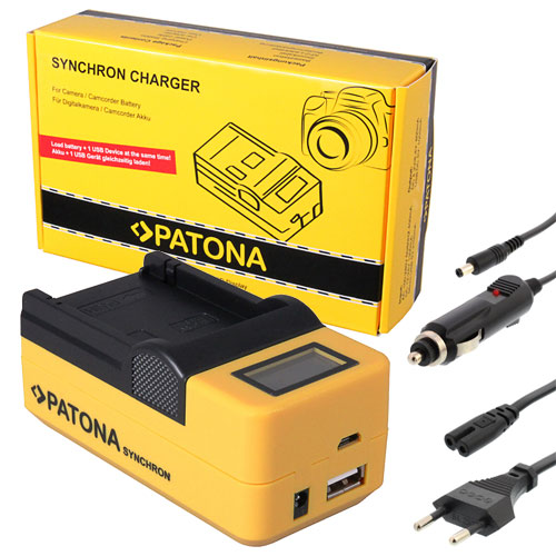 AKKU LADEGERÄT MICRO USB für Panasonic CGA-S008; Ricoh DB-70